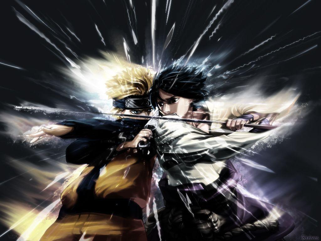 Ninja Vs Samurai Fight tout naruto